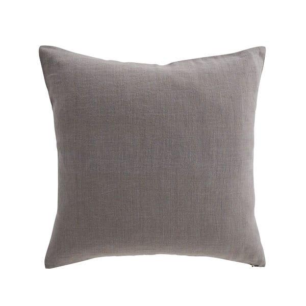 Mala Ornamental Motif Embroidered Cushion Cover in Grey