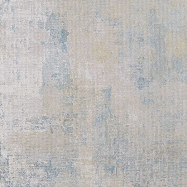 Distressed textured designer rug closeup Talia