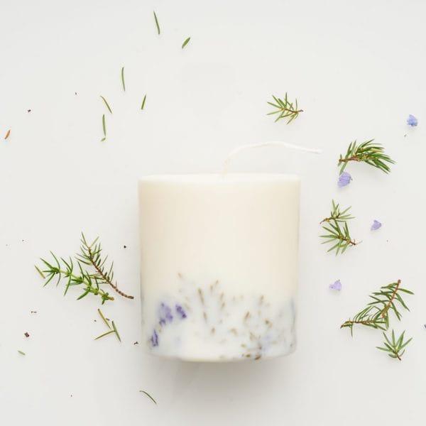 juniper limonium candle image