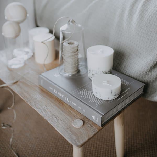 Moss Candles