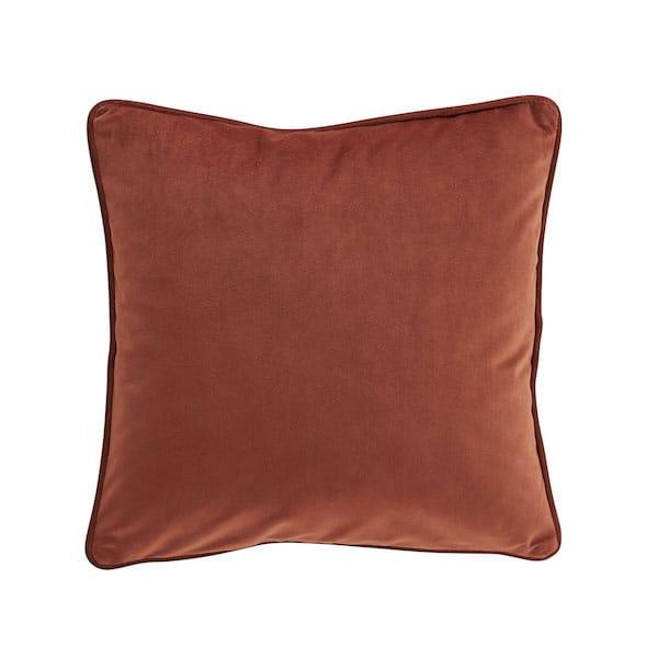 amara amber velvet cushion cover image