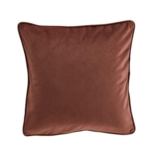 amara cinnamon velvet cushion cover image