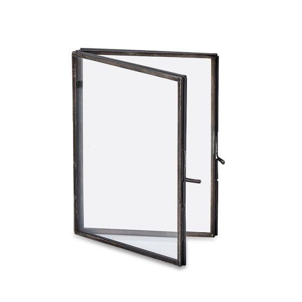 danta folded picture frame – antique black small image