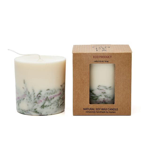 heather scented candle and presentation box to buy
