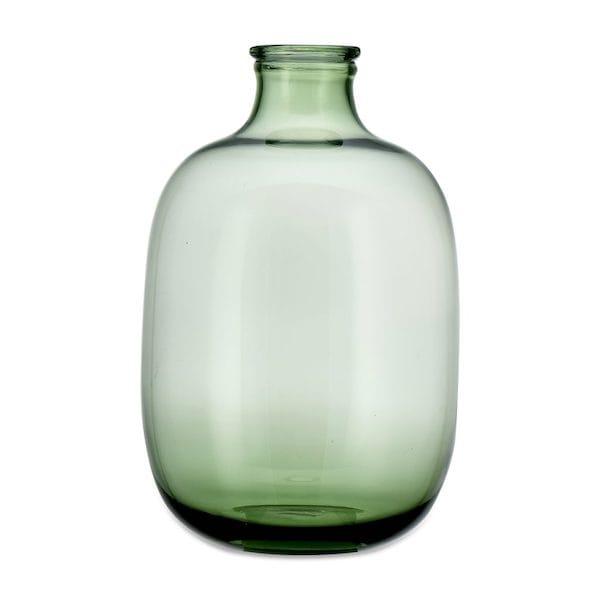 lua glass vase green large image