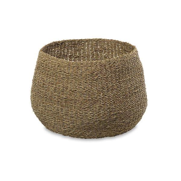 noko seagrass basket natural large image