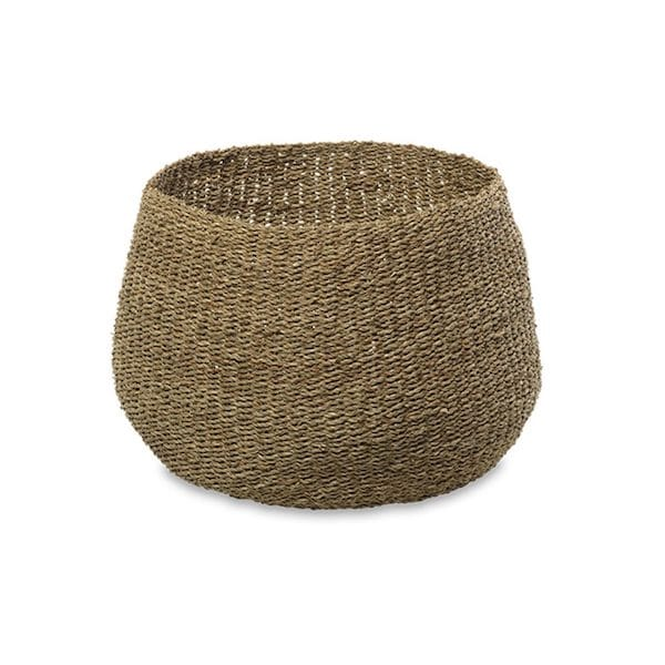 noko seagrass basket natural small image