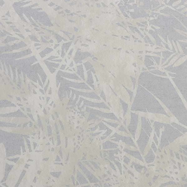 Fern Duck Egg close up printed fabric