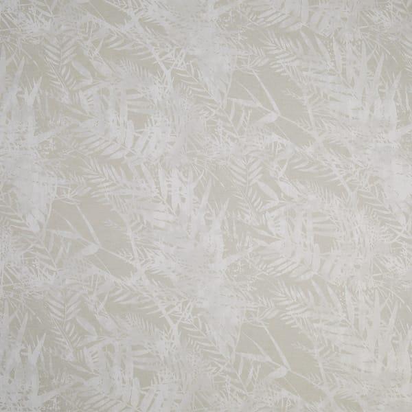Fern Natural printed fabric