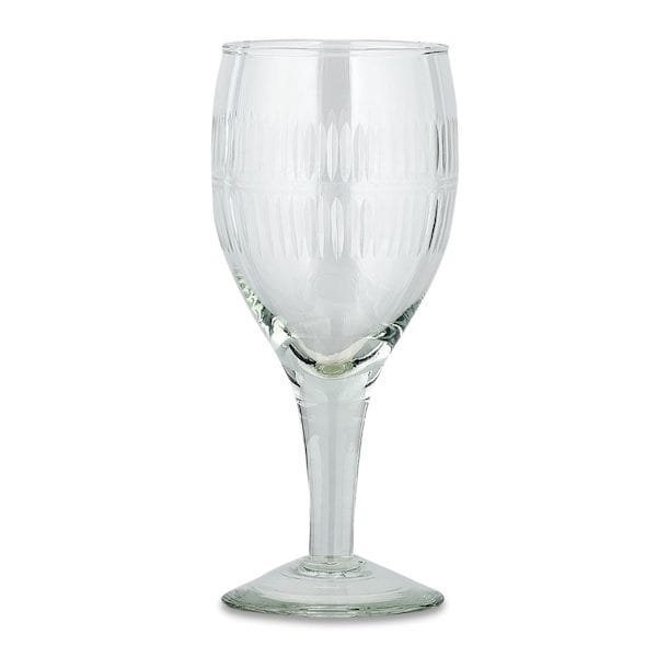 Mila Wine Glass – Clear Glass