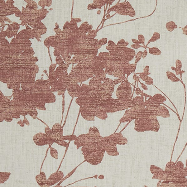 Sula Copper printed fabric close up to buy