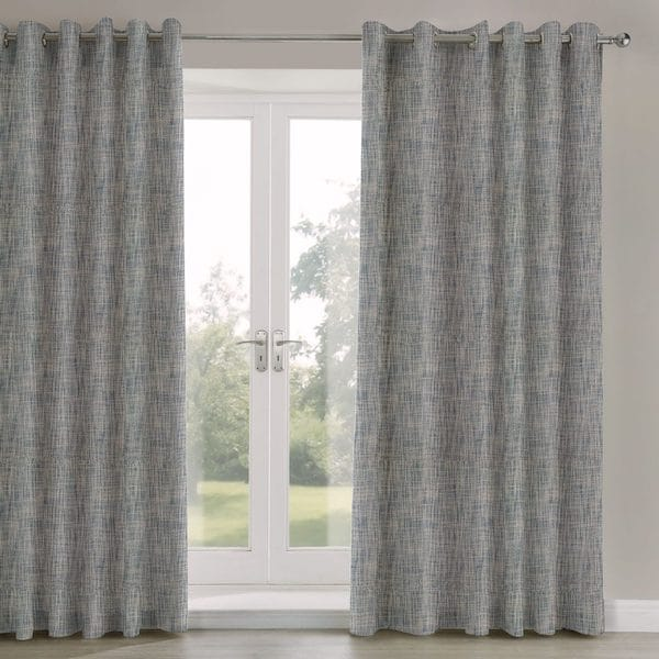 adachi midnight textured lined curtains image