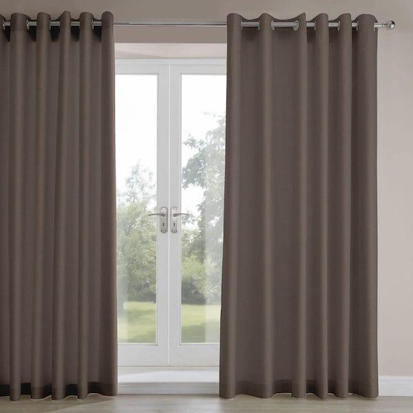 amara moleskin velvet lined curtains image