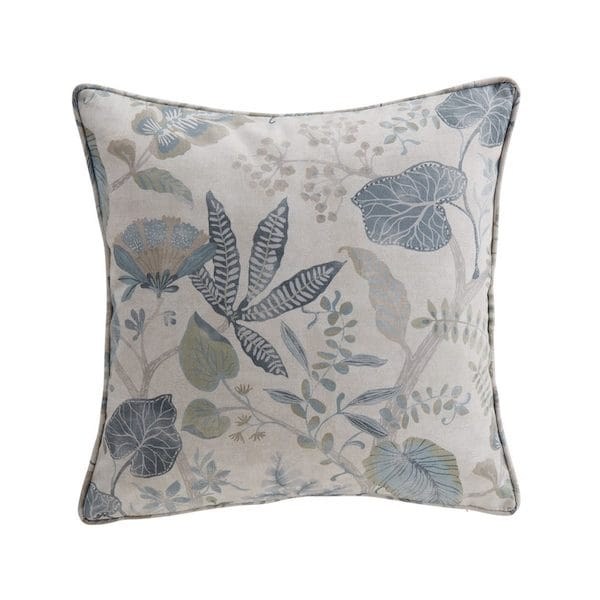 ava indigo printed cushion cover image