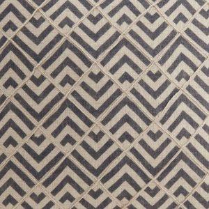 zig zag navy patterned fabric
