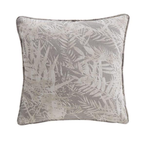 fern leaf mink printed cushion cover image