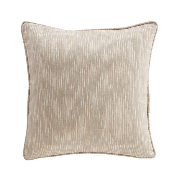 mistra oatmeal woven fabric cushion cover image