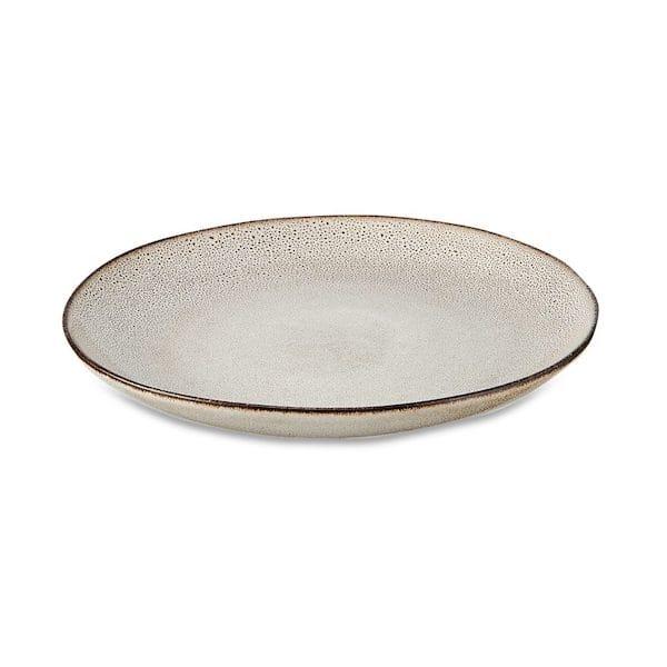 nzari dinner plate cream image