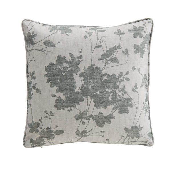sula grey printed cushion cover image