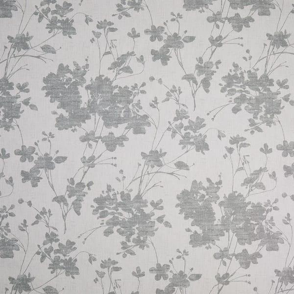 sula grey printed fabric image