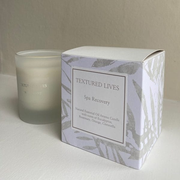 spa recovery candle image