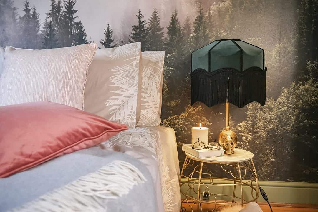 fern duvet design and cushions