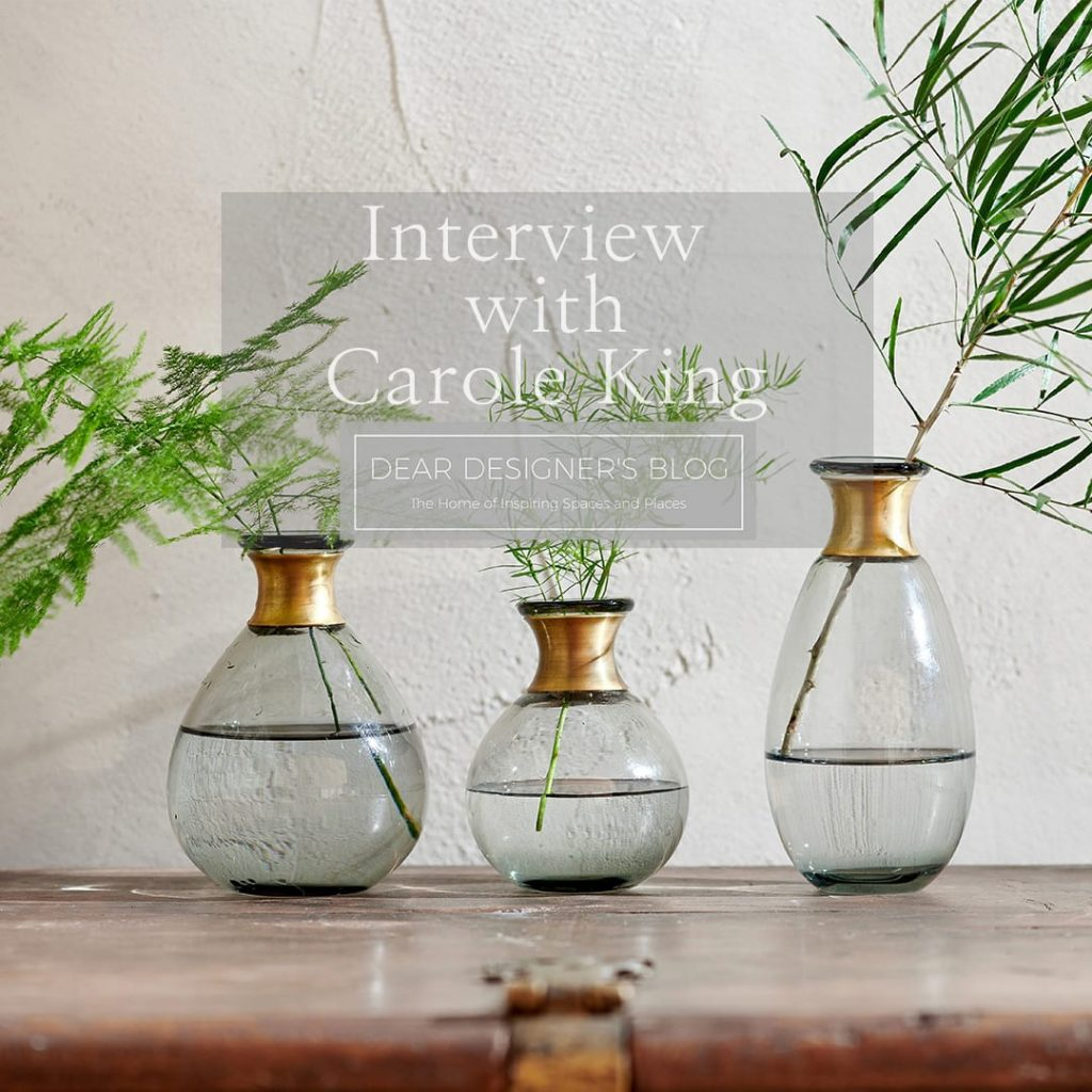 Miza glass vase image with link to Carole King article