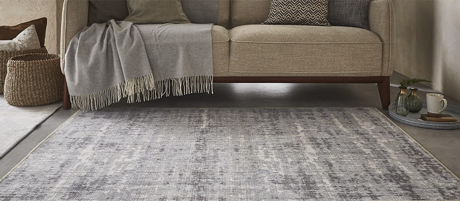 contemporary distressed rugs collection