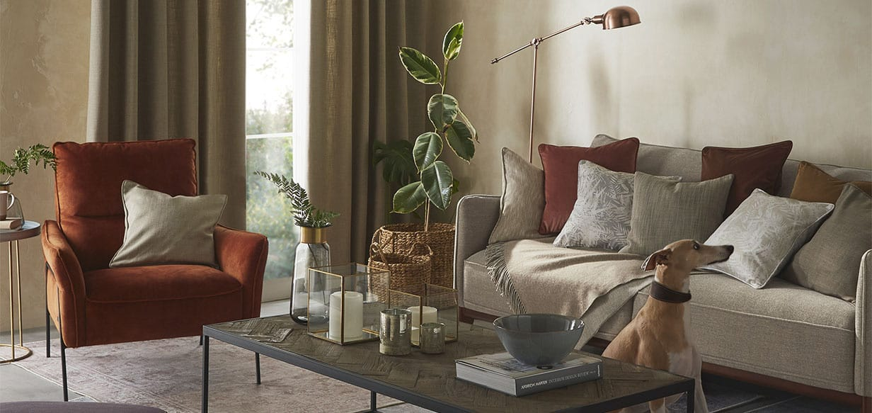 home accessories and curtains